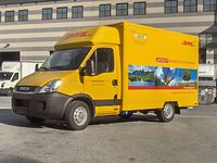 Iveco EcoDaily Electric - DHL Elektrotransporter